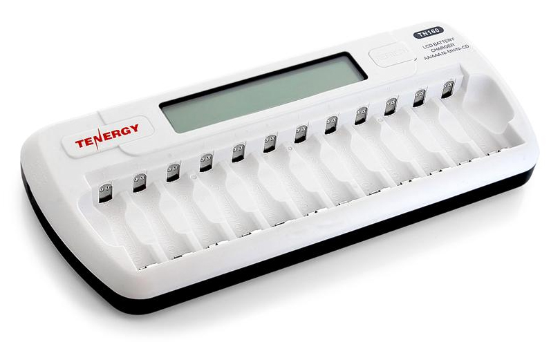 12 bay charger