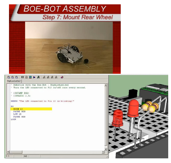 Exploring Robotics Boe Bot Curriculum Samples